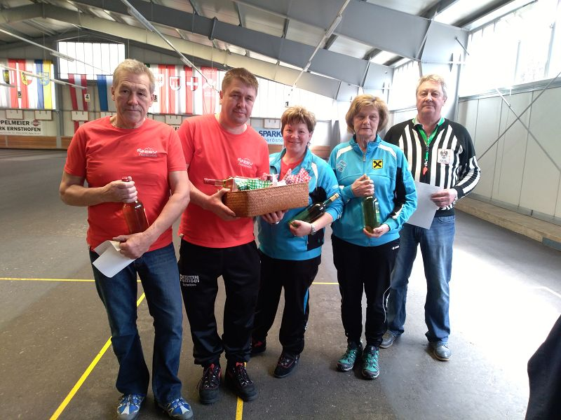 1.Platz Mixed Turnier
