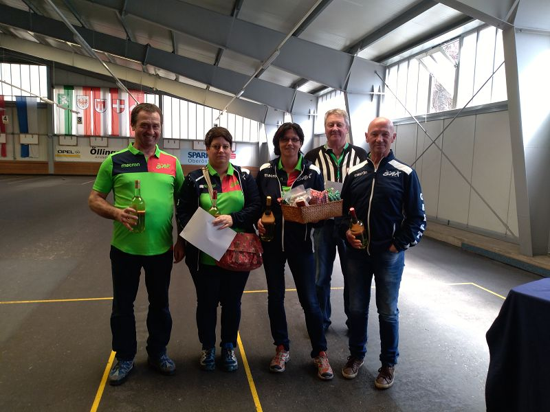 2. Platz Mixed Turnier