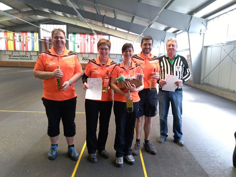 3. Platz Mixed Turnier